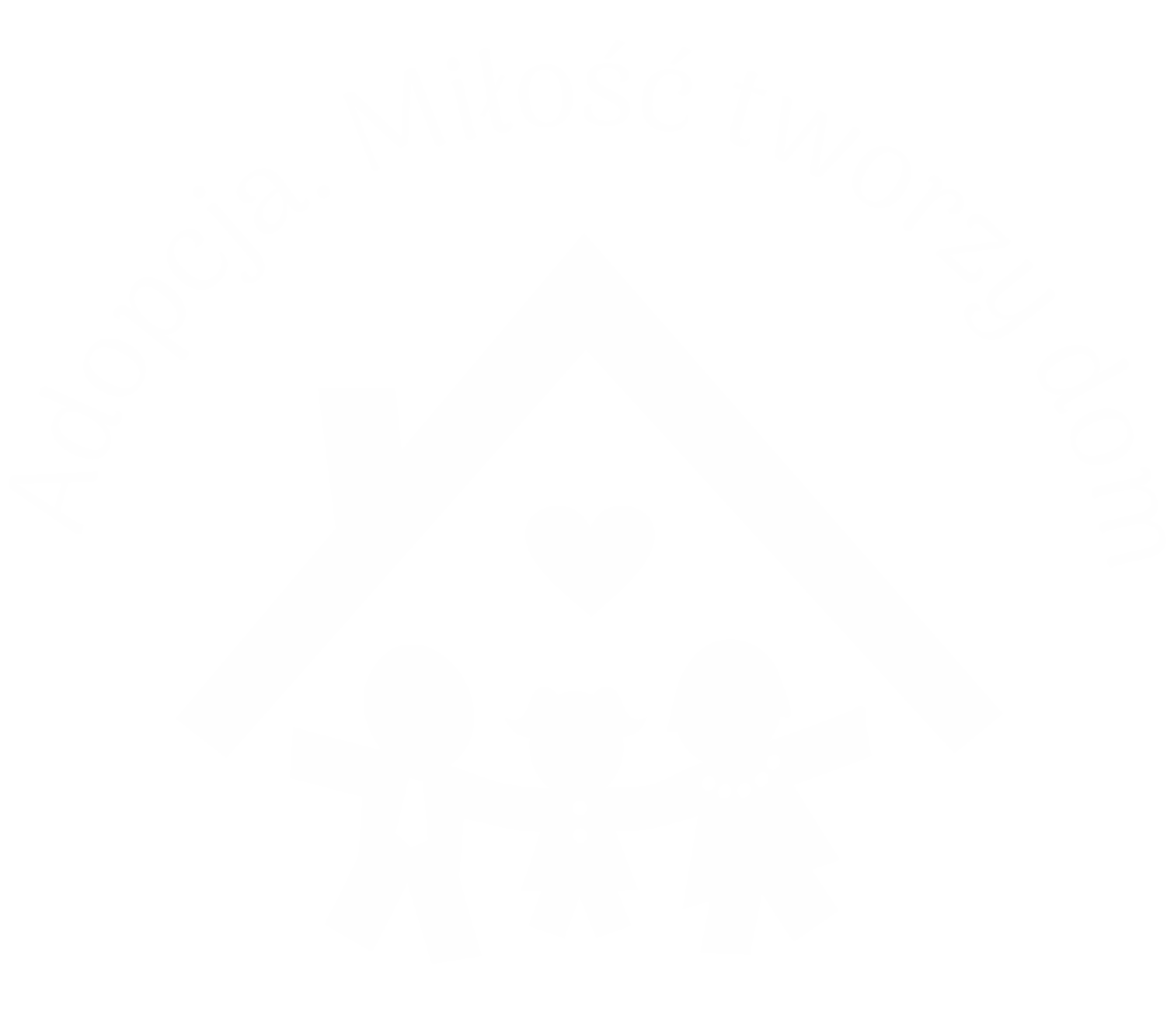 Adopcja - Miłość tworzy dom - Logo  Wojewódzki Ośrodek Adopcyjny przy Regionalnym Ośrodku Polityki Społecznej Województwa Śląskiego